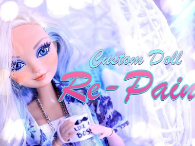 DIY - How to Make: Custom Doll RePaint - Face Up - 4K