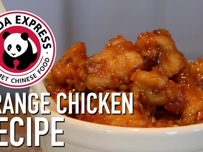 DIY Panda Express Orange Chicken - Feat. Mom
