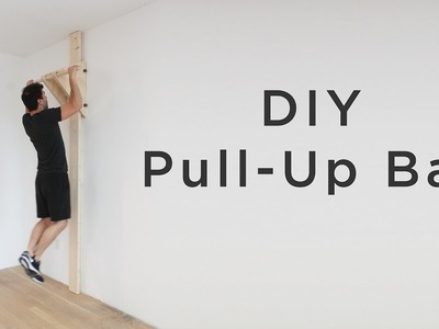 DIY Pull Up. Chin Up Bar | How to make a chin-up bar without a doorway