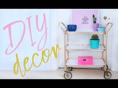 DIY Room Decor Projects For 2017 | Thrifted and Upcycled