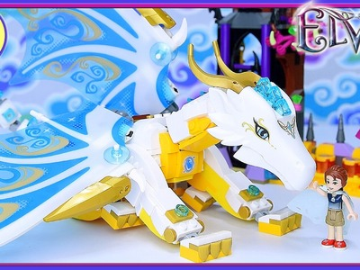 Elves Queen Dragon's Rescue Lego Build Part 2 Review Silly Play - Kids Toys