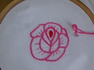 Hand Embroidery: Split Stitch