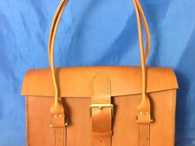Hand Made Ladies Leather Shoulder Bag