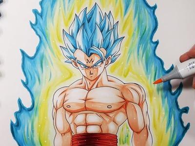 How To Draw Majin Gogeta - Upper Body Tutorial!