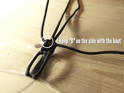How to Make a Bow Wrist Sling with Paracord