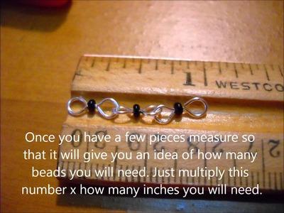 How to make a Handmade Chain Bracelet