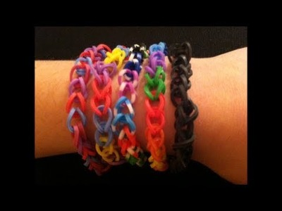 How to Make a Rubber Band Bracelet - Easy