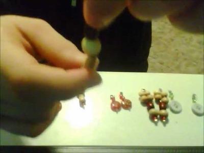 How to make doll earrings AG