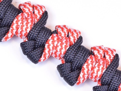 "How to Make the ""Wauseon Totem Bar"" Paracord Bracelet - BoredParacord"