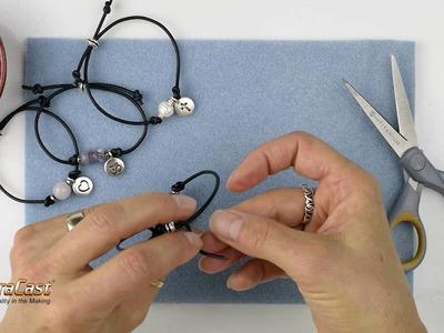 How to Make TierraCast's Mantra Bracelets
