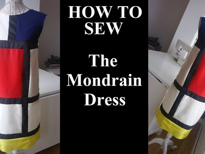 How to sew the Mondrian dress