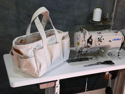 I Make a Cool Canvas Tool Bag