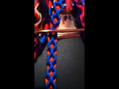 My friendship bracelet creations