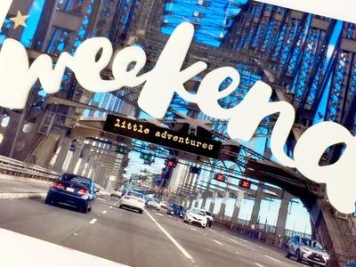 Project Life Scrapbooking Process Video ~ Sydney Trip ~ Grab 5