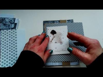 Scrapbook layouts in junk journals  work with black&white print