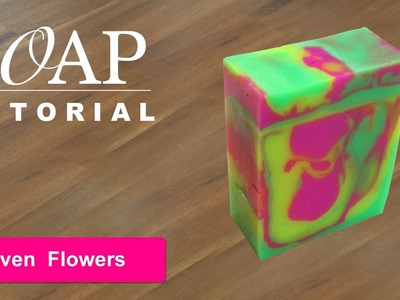 Seven Flowers, Melt and Pour Soap Tutorial