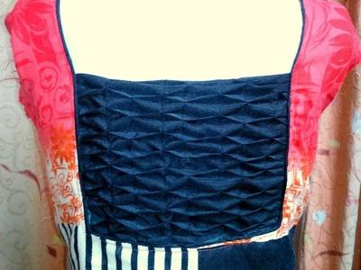 Smocking back design of suits.kurti.kameez.blouse | smocking tutorial for beginners