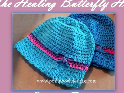The Healing Butterfly Hat Crochet Pattern
