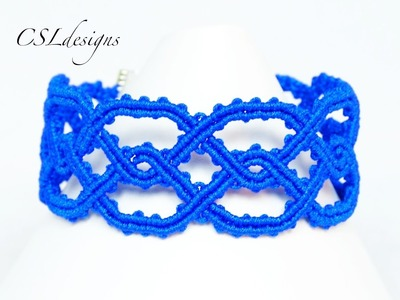 Twisted celtic macrame bracelet