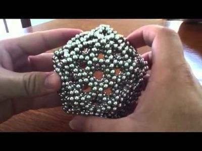 Zen magnets rubber-band ball