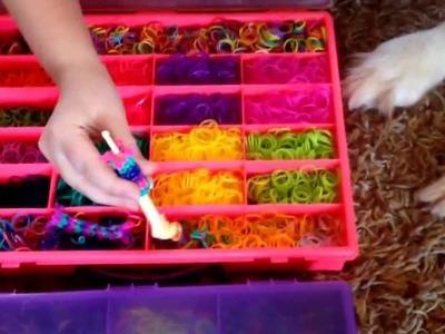 #1. How I Organize My Rainbow Loom
