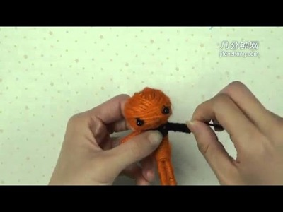 15409 How to Make Voodoo Doll of Pumpkin Girl