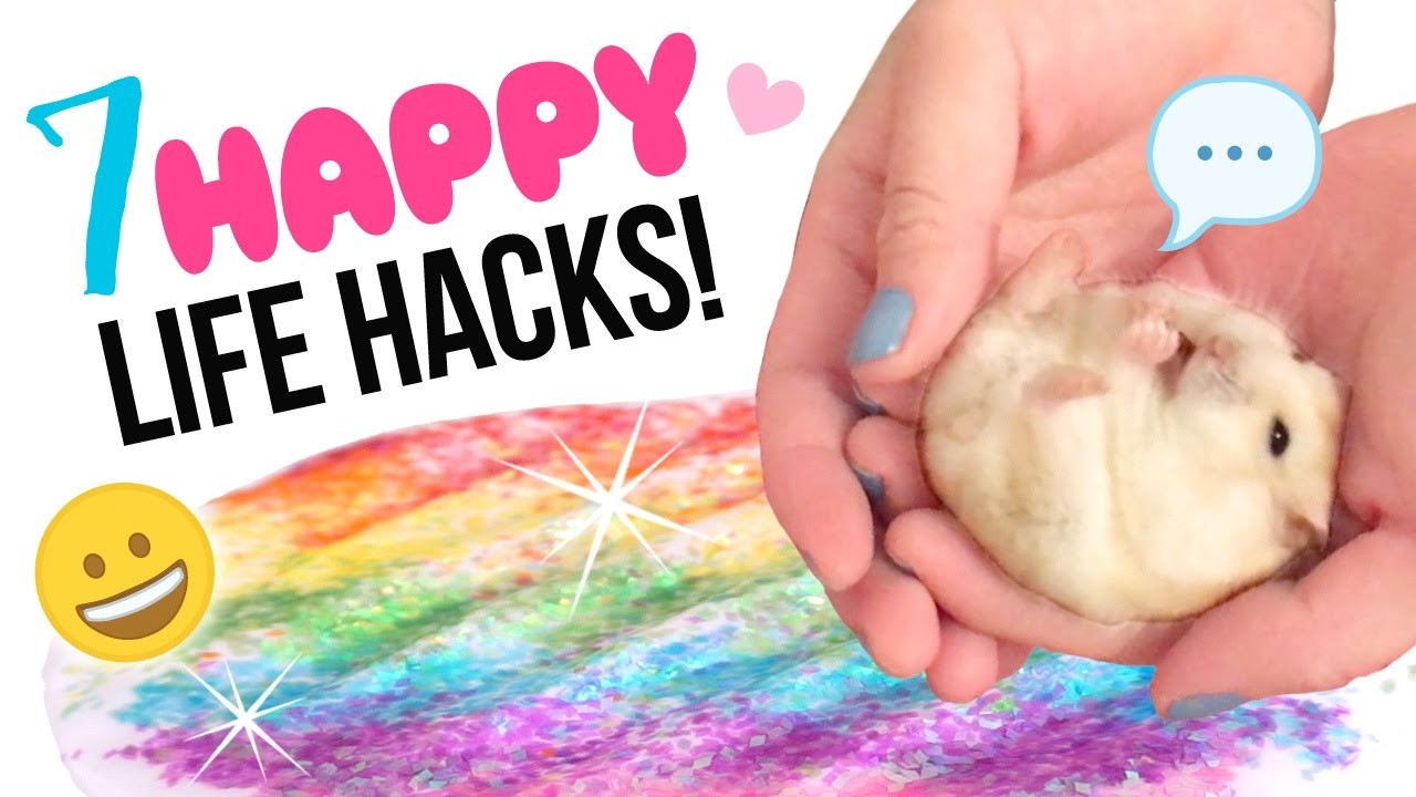 7 HAPPINESS Life Hacks You Should Do NOW!! Self-Care Inspiration for 2017