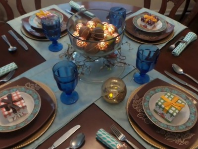 A Budget-friendly Thanksgiving Dinner Table