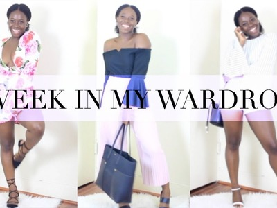 A WEEK IN MY WARDROBE | Back to SCHOOL • WORK • LIFE | LiveNaturallyLove