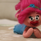 Amigurumi Troll Poppy - PDF PATTERN