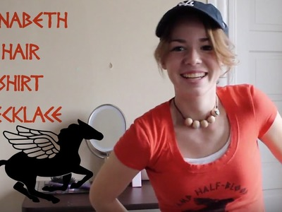 Annabeth Chase Costume: shirt, necklace, hair.hat | AKA Beauty