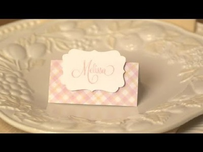 Bridal Shower Place Card Holders : Practical Party Ideas