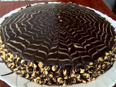 Chocolate Cake with Ganache | Kitchen Time with Neha
