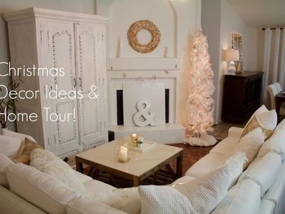 Christmas Decor Ideas and Home Tour