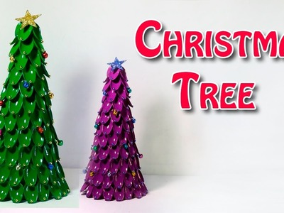 DIY Crafts - Making of Christmas Tree