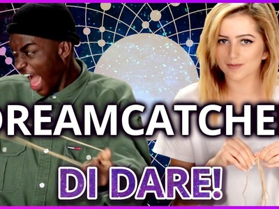 DIY Dreamcatcher?! | Di-Dare w. Rickey Thompson and Lycia Faith