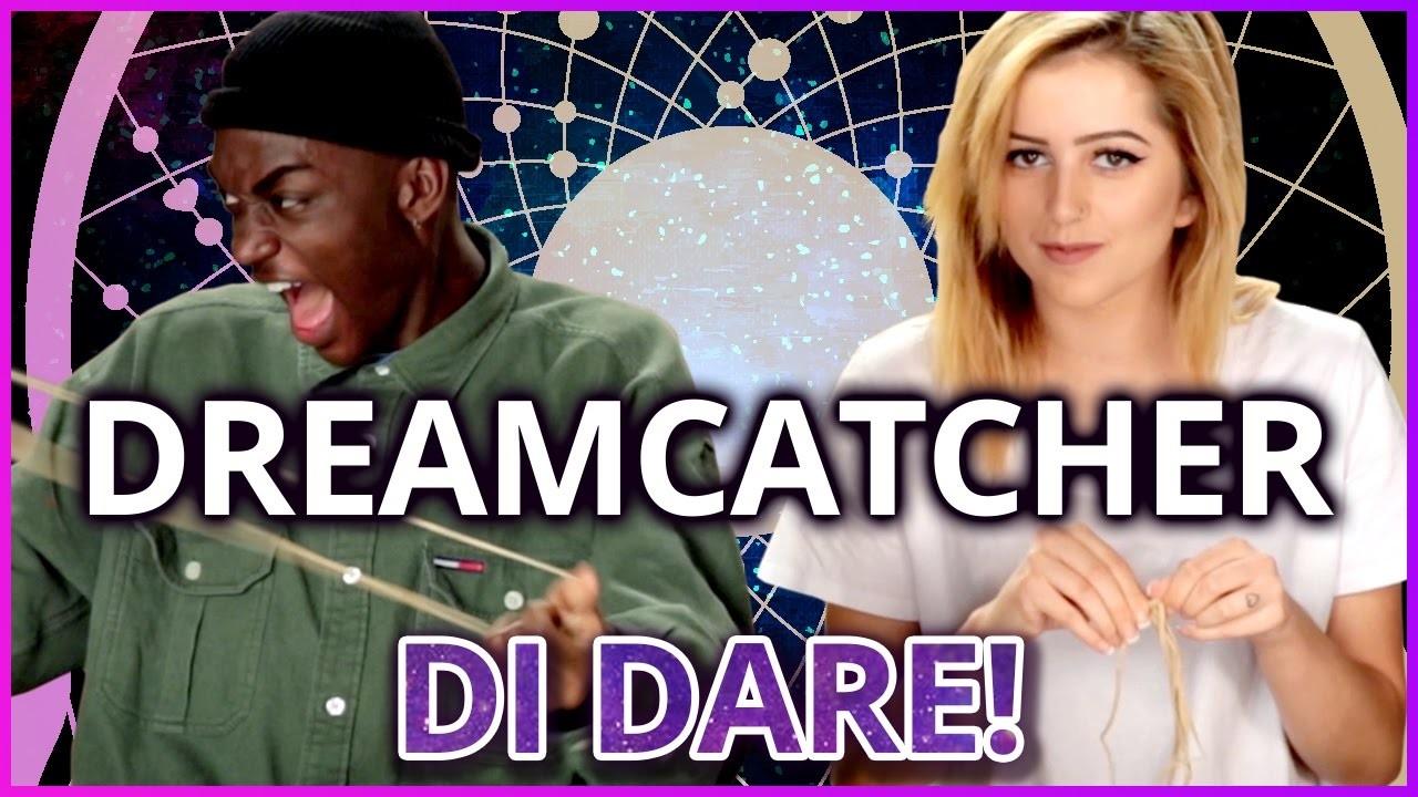 DIY Dreamcatcher?!   Di-Dare w. Rickey Thompson and Lycia Faith