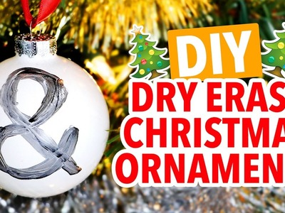 DIY Dry Erase Christmas Ornaments ~ Holiday Hack - HGTV Handmade