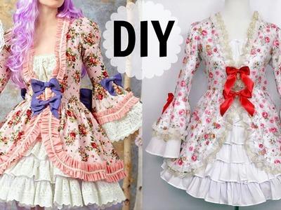 DIY European Historic.Rococo Inspired Dress | Gorgeous & Elegant & Fancy Dress