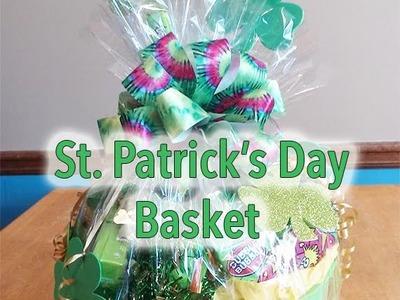 Dollar Tree St. Patrick's Day Gift Basket