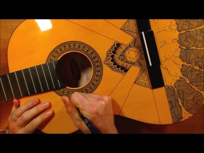 Drawing On My Guitar (with original music by me)