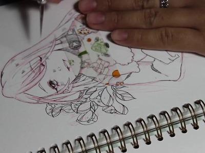 |Drawing Process| Young Viktor Yuri on Ice!! | No Music