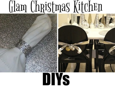 Glam Christmas Kitchen DIYs - ALL DOLLAR TREE