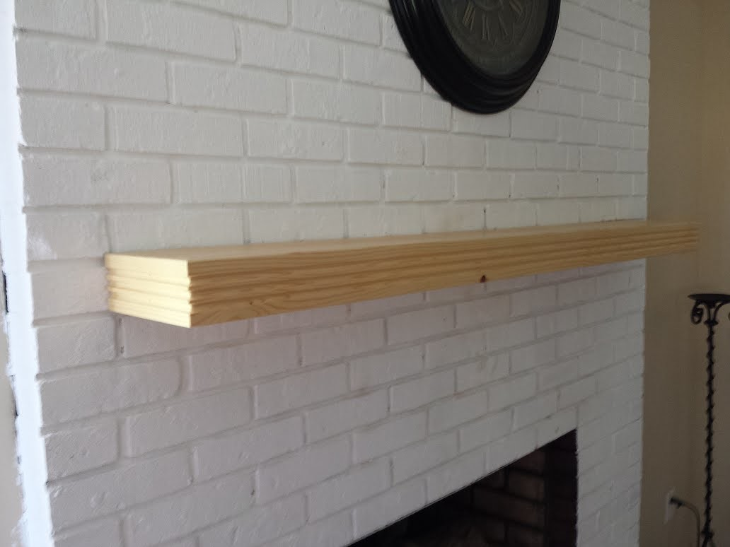 GPW 53 - How To Make a Floating Fireplace Mantle