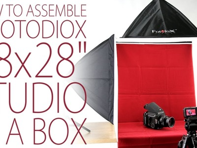 How to Assemble a Fotodiox 28x28 Studio In A Box