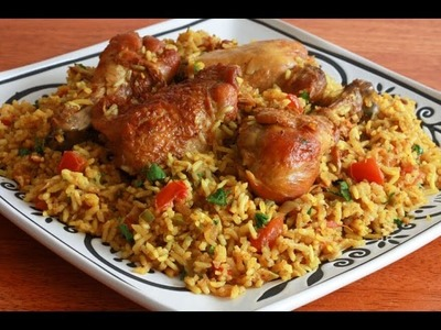 How to cook Rice and Chicken PILAU Eid Aduha Eid El fitr