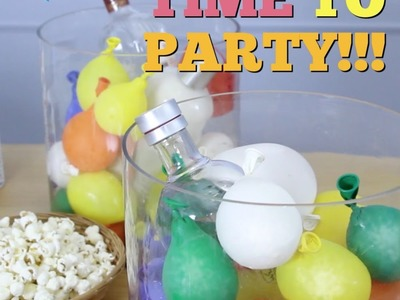 How to Make a $5 Cooler with Balloons