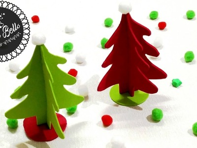 How to make a Christmas tree by paper, 5 minutes craft by paper Christmas tree, DIY Christmas tree