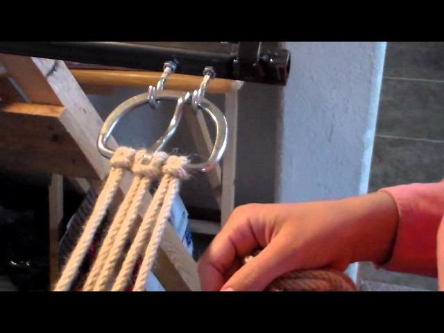 How To Make a Mohair Cinch, Part 3