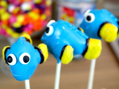 How To Make Finding Dory Cake Pops | CarlyToffle